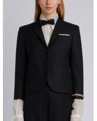 22ef4c72f8dc Thom Browne - Classic Single Breasted Sport Coat With Wristwatch Applique    Combo Lapel In Super