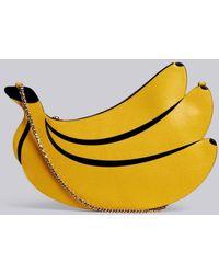 b441ab238a28 Thom Browne - Rwb Chain Leather Banana Bag - Lyst