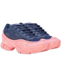 Raf Simons Adidas X Ozweego Blue And Pink