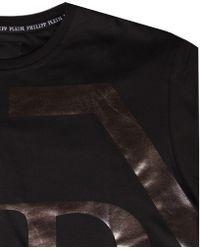 Philipp Plein - Printed T-shirt Black - Lyst