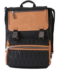 KENZO - Backpack Black/beige - Lyst