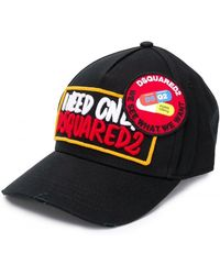 DSquared² - Adjustable Cotton Hat Baseball Cap - Lyst