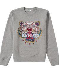 KENZO - Tiger Sweatshirt Grey - Lyst