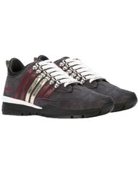 DSquared² - Dsquared Lace-up Low Top Sneakers Grey - Lyst