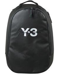 Y-3 - Y-3 Logo Backpack Black - Lyst