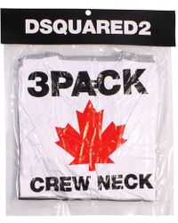 DSquared² - 3 Pack T-shirts - Lyst