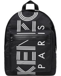 KENZO - Sport Rucksack Women's Backpack In Black - Lyst