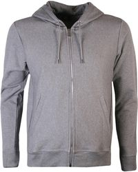 PS by Paul Smith - Zip Hooded Sweatshirt Grey - Lyst