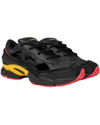 1bc69b6cabd3 adidas By Raf Simons - Adidas X Raf Simons Replicant Ozweego Trainers Black  And Yellow -