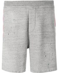 DSquared² - 2 Elasticated Waist Jogger Shorts Grey - Lyst