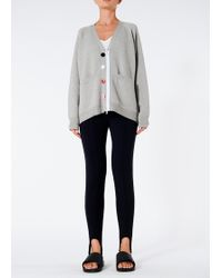Tibi - Washable Wool Nylon Back Cardigan - Lyst