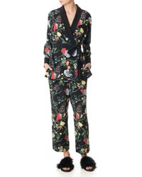 Tibi - Seville Printed Smoking Jacket - Lyst