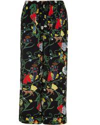 Tibi - Seville Printed Pyjama Trousers - Lyst