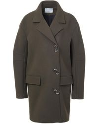 Tibi - Felted Wool Oversized Coat - Lyst