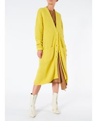 Tibi - Airy Alpaca Long Cardigan - Lyst