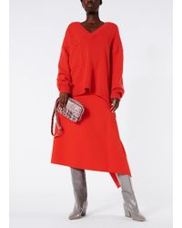 Tibi - Bond Stretch Knit Origami Skirt - Lyst