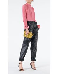 Tibi - Pleated Cropped Top - Lyst