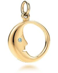 Tiffany & Co. - Man In The Moon Charm - Lyst