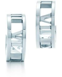 Tiffany & Co | Hoop Earrings | Lyst