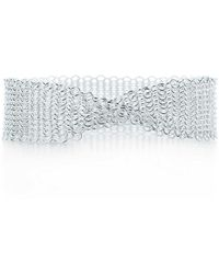 Tiffany & Co. - Mesh Bracelet - Lyst