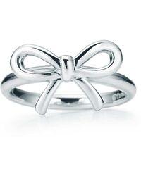 Tiffany & Co. - Tiffany Bow Ring In Sterling Silver - 4 - Lyst