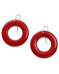 49f5addd4 Tiffany & Co. Elsa Peretti® Bean Design Earrings In 18k Gold in Metallic -  Save 2% - Lyst