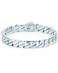 Tiffany & Co. - Curb Link Bracelet - Lyst