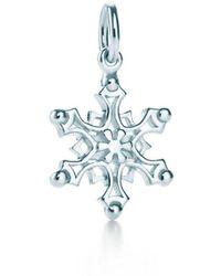 Tiffany & Co. - Snowflake Charm - Lyst