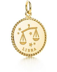 Medical ID tag charm in 18k gold Tiffany & Co. PZPSLz