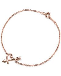 Tiffany & Co. - Loving Heart Arrow Bracelet - Lyst