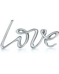 Tiffany & Co. - Love Single Earring - Lyst