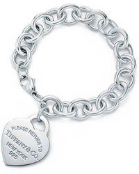 Tiffany & Co   Heart Tag Bracelet   Lyst