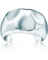 Elsa Peretti open center cuff in sterling silver, medium Tiffany & Co.