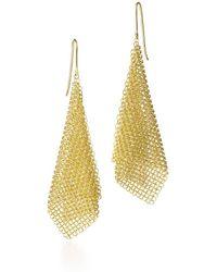 Tiffany & Co. - Mesh Scarf Earrings - Lyst