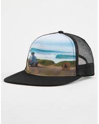 183dc113988 Lyst - Hippy Tree Wyoming Trucker Hat in Black for Men