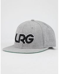00be07e222b Lyst - LRG The Most High Hat in Red in Red for Men