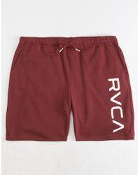 RVCA - Kettle Ii Mens Sweat Shorts - Lyst