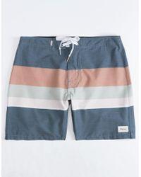 Rhythm - Vintage Stripe Mens Boardshorts - Lyst