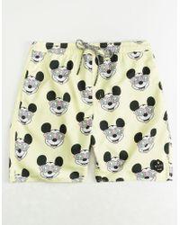Neff - Disney Collection Mickey Mens Hot Tub Swim Trunks - Lyst