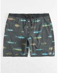 Salty Crew - Deckhand Mens Swim Trunks - Lyst