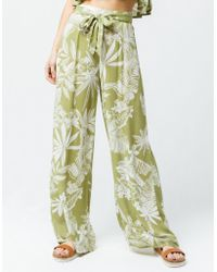 42dc8bea3f Patrons Of Peace - Floral Womens Wide Leg Pants - Lyst