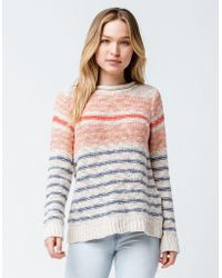 c01fc5e99a Rip Curl Beach Bazaar Womens Sweater in White - Lyst