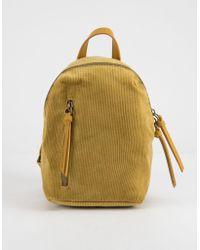 T-Shirt & Jeans - Corduroy Mini Backpack - Lyst