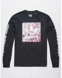 ce30c390 adidas Blackbird Wave Mens T-shirt in Black for Men - Lyst