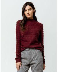 RVCA - Mystars Womens Sweater - Lyst