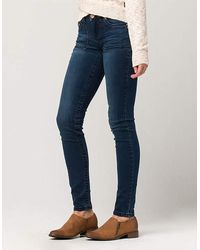 Almost Famous - Premium Zip Pocket Womens Skinny Jeans - Lyst