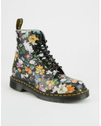 Dr. Martens   Dr. Martens Darcy Floral Pascal Womens Boots   Lyst