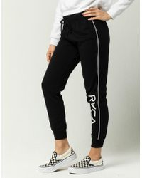 RVCA - Fracture Womens Jogger Pants - Lyst
