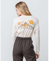 Billabong - Vintage Scenic Womens Tee - Lyst