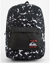 Quiksilver - Night Track Wax On Wax Off Backpack - Lyst